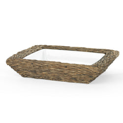 Rectangular Serving Dish With Basket