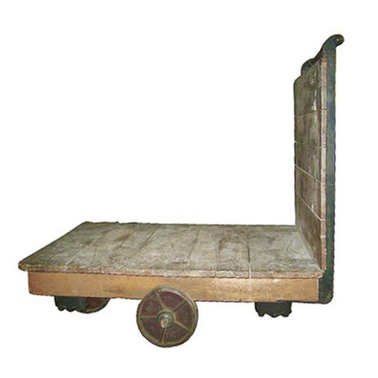 French Industrial Cart Coffee Table