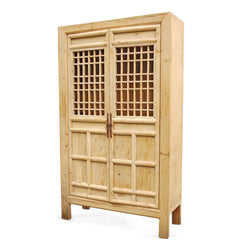 Armoire With Grid