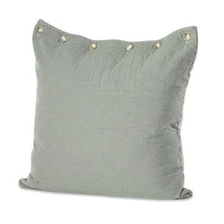 Slate Quilted Euro Pillow