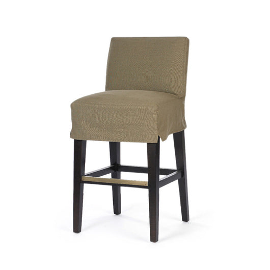 Pair Of C7001-52 Slipcovered Barstools