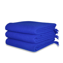 Cobalt Blue Throw