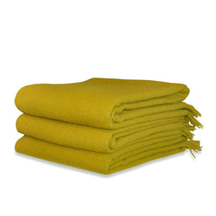 Chartreuse Throw
