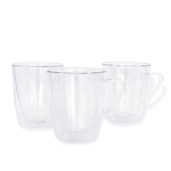 Set Of 4 Double Wall Glasses