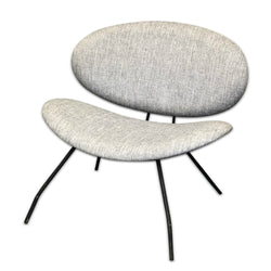 Grey Upholstered Chair