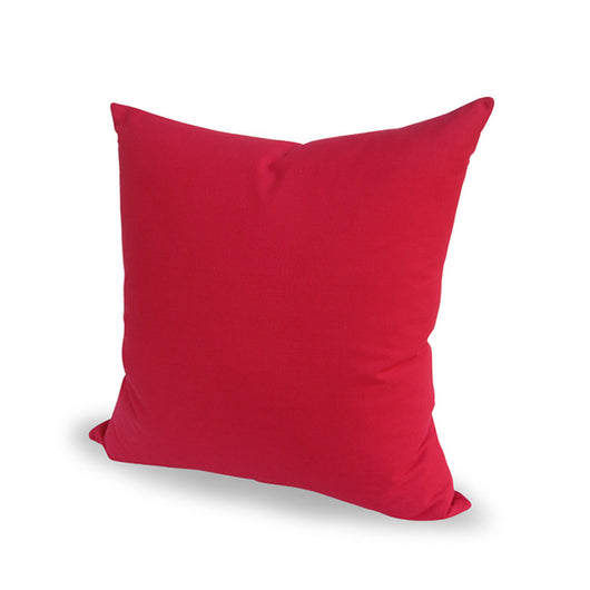 Solid Red Pillow