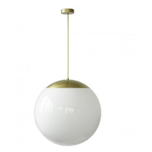 Opal Glass Globe Light