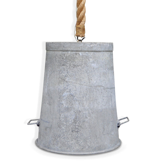 Zinc Bucket Light