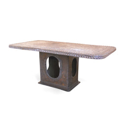 Iron Rectangular Dining Table