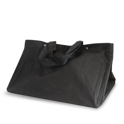 Black Canvas Wood Carrier
