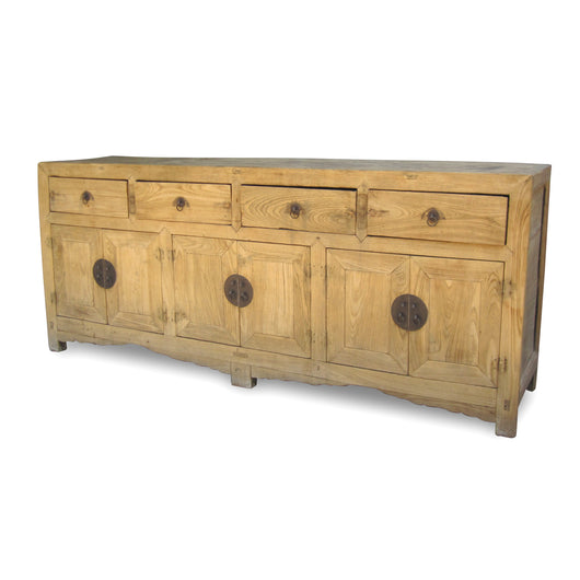 Four-Door Elmwood Dresser