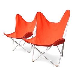 Pair Of Butterfly Chairs