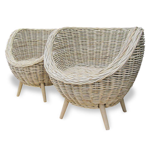 Wicker Basket Chair