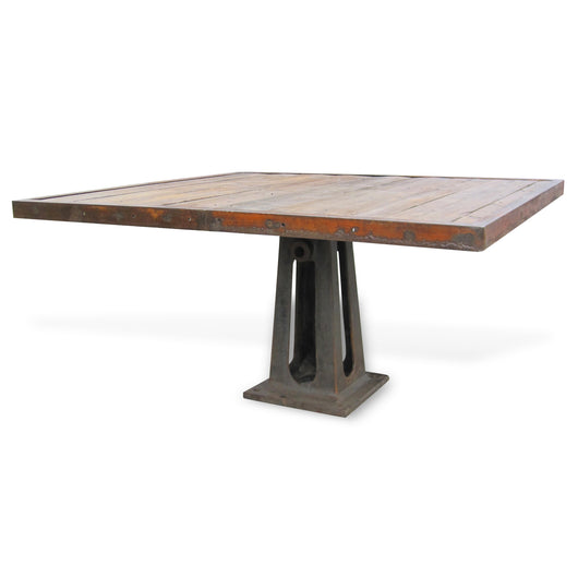 Industrial Iron & Wood Table