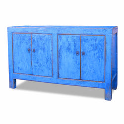 Four Door Blue Cabinet