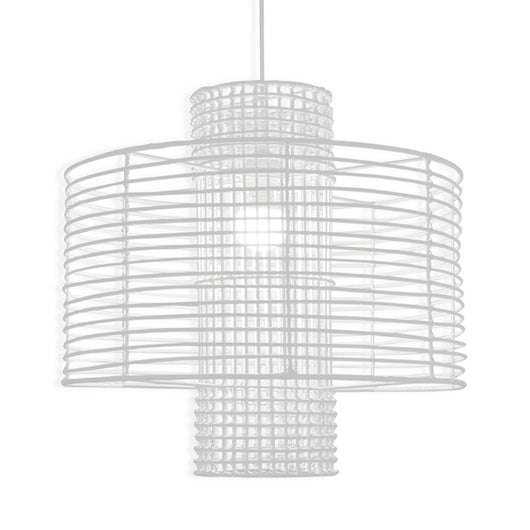 White Deco Pendant Light