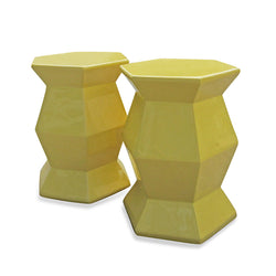 Yellow Spot Side Table