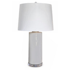 Grey Ceramic Lamp