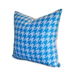 Blue Check Pillow
