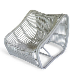 White Rattan Chair