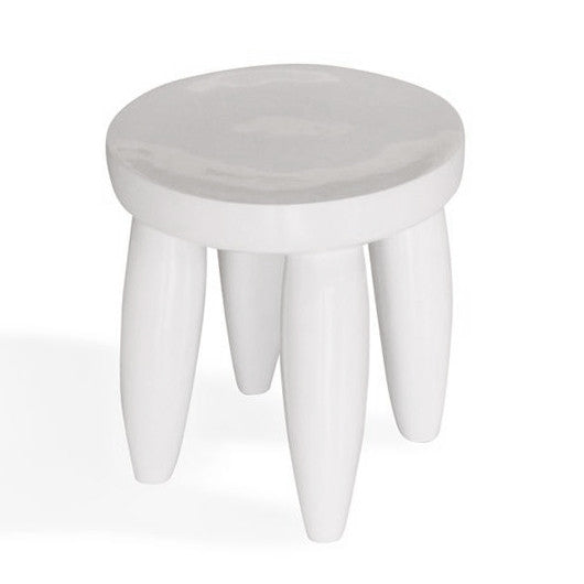 White Senofo Table