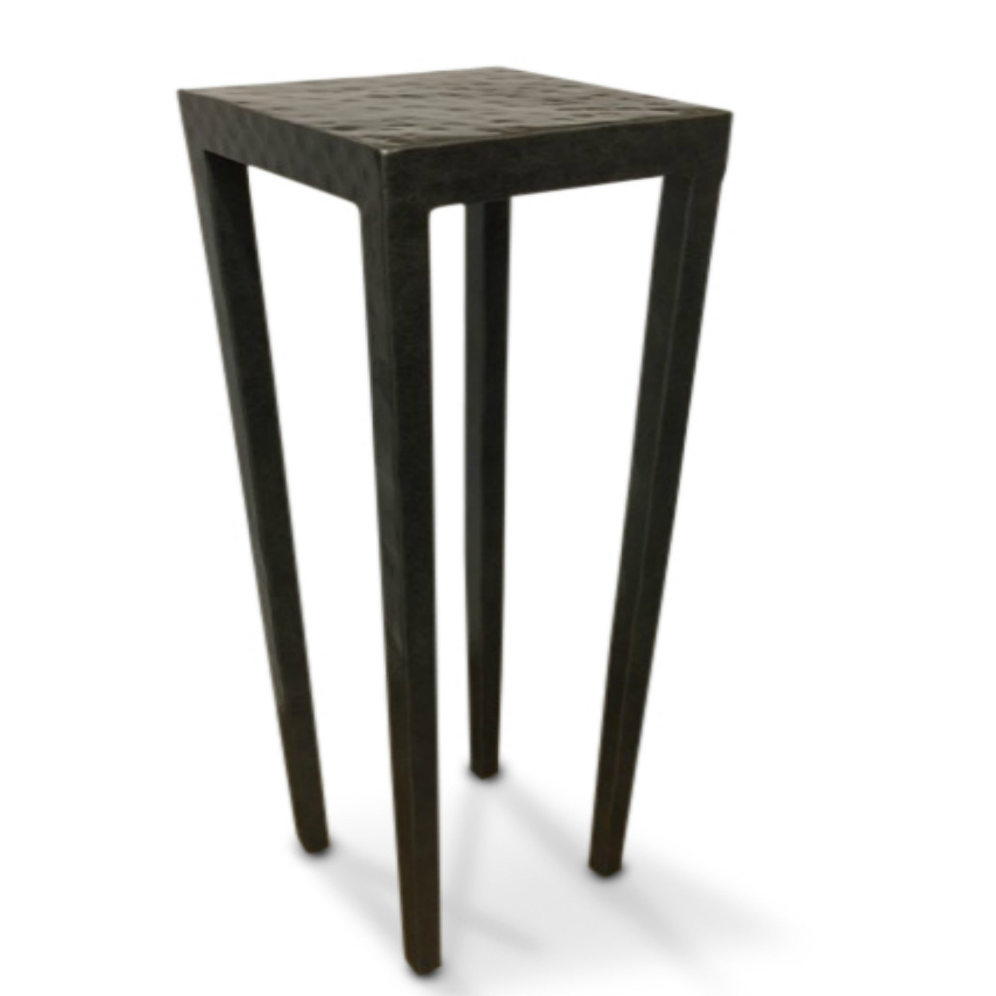 Small Hammered Drink Table