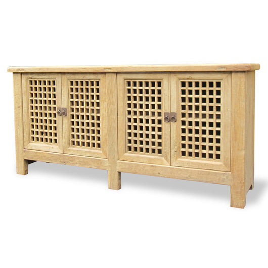 Double Door Grid Cabinet
