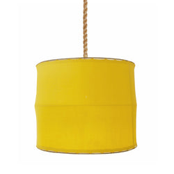 Yellow Iron And Linen Light