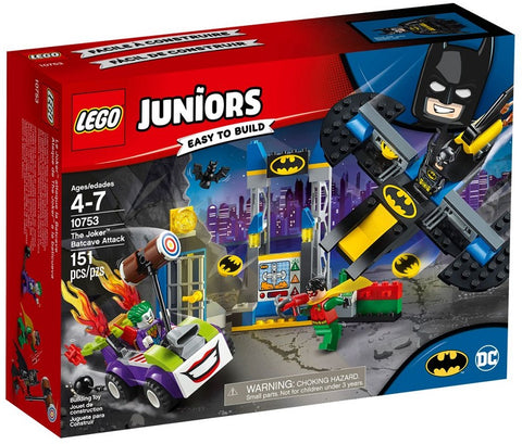 לגו 10753 באטמן ג'וקר (LEGO 10753 The Joker Batcave Attack)