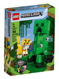 לגו 21156 ביג פיג קריפר מיינקראפט - LEGO 21156 Big Fig Creeper and Ocelot Minecraft }}