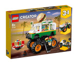 לגו 31104 משאית בורגר - Lego 31104 Monster Burger Truck Creator }}
