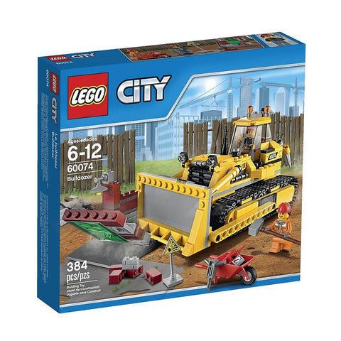 לגו 60074 בולדוזר (LEGO 60074 Bulldozer City)