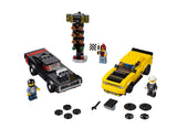 לגו 75893 דודג' צ'לנג'ר - LEGO 75893 2018 Dodge Challenger SRT Speed Champions }}