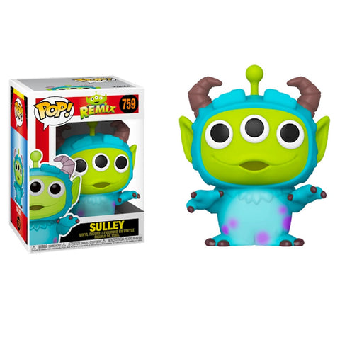 בובת פופ רמיקס חייזר סאלי- Funko Pop Pixar Remix Sulley 759