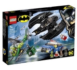 לגו 76120 באטווינג ואיש החידות - LEGO 76120 Batman Batwing The Riddler Heist }}