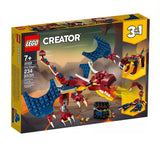 לגו 31102 דרקון אש (Lego 31102 Fire Dragon Creator) }}