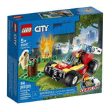 לגו 60247 שריפה ביער - Lego 60247 Forest Fire City }}