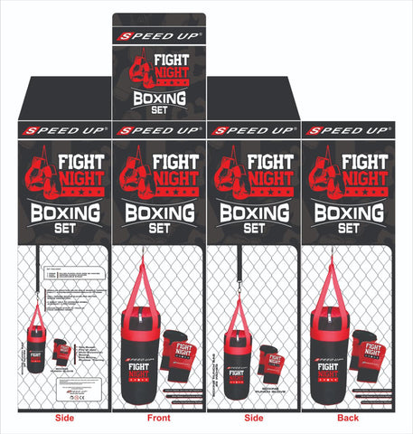 שק אגרוף BOXING SET