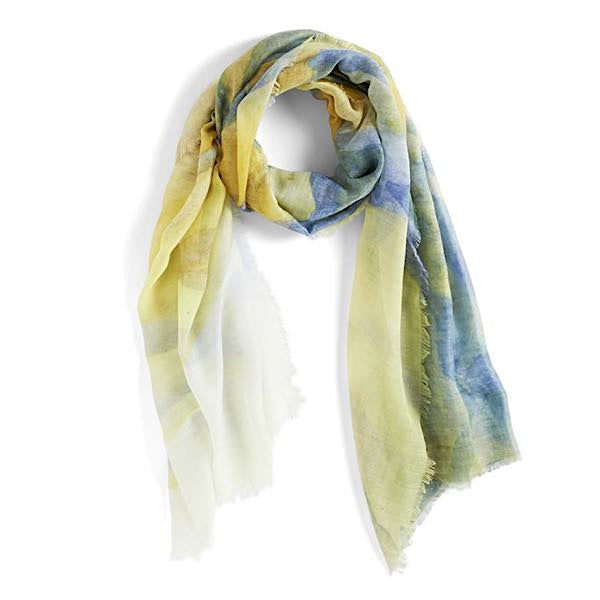 Watercolor Brights Scarf