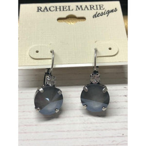 Brooke Earrings in Light Grey