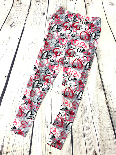 Valentines Day Leggings (Limited Supply)