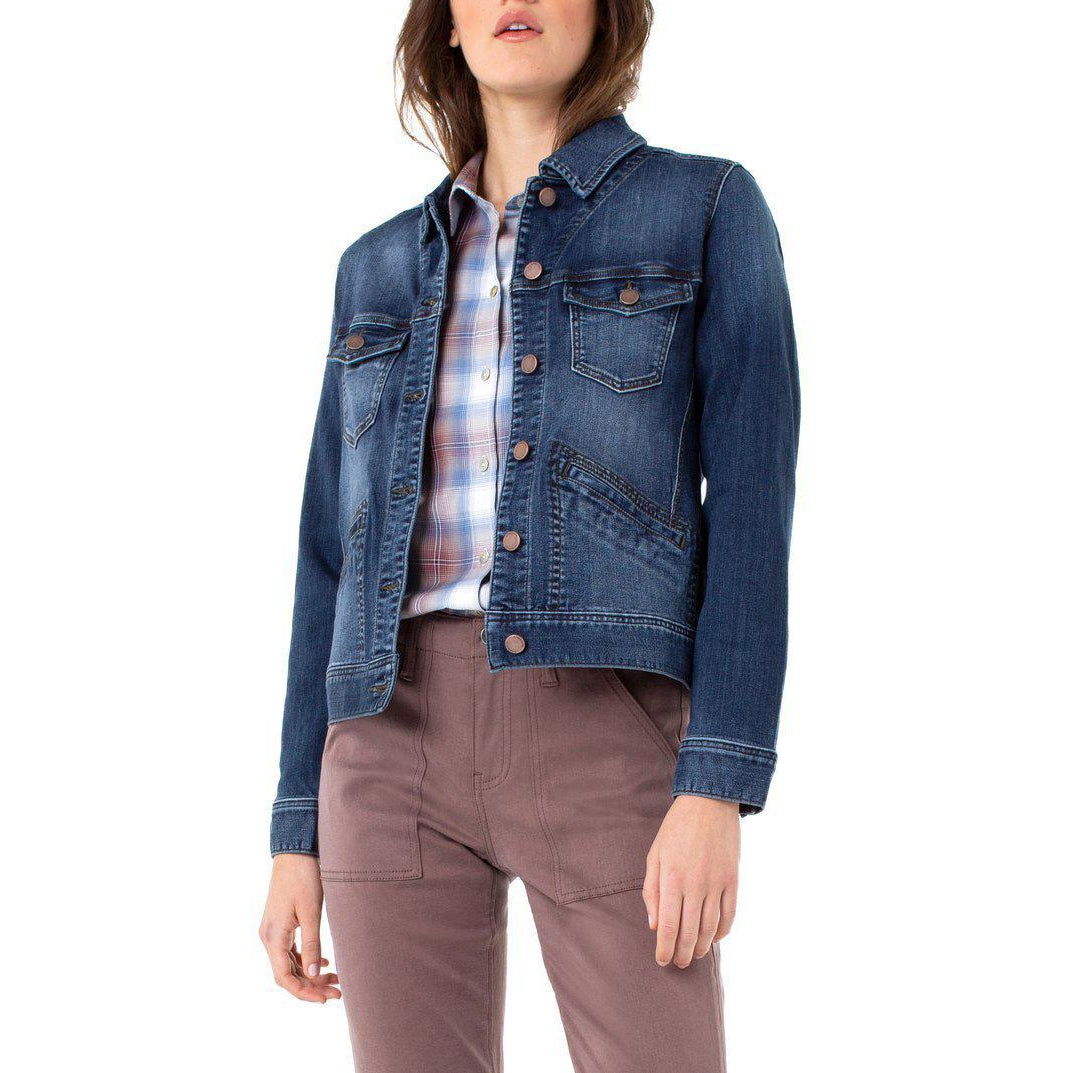 Sanders Silky Soft Denim Jacket