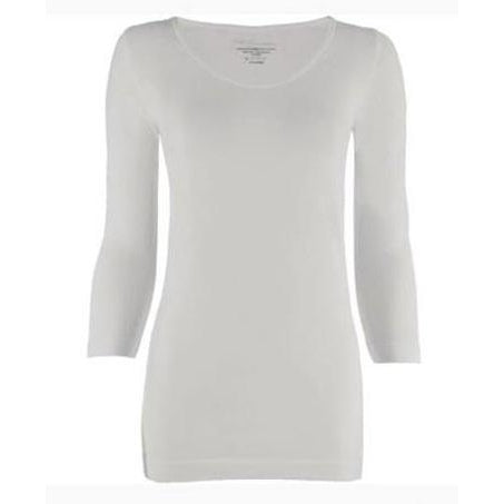 3/4 Sleeve Smooth Wear Top in over 3 dozen colors