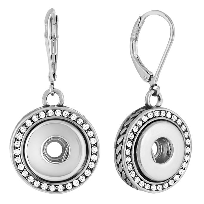 Petite Bling Dangle Earrings