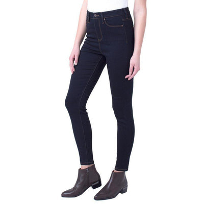 Indigo Rinse Bridget Highrise-Jeans-Liverpool-2-Lizzy's Pink Boutique