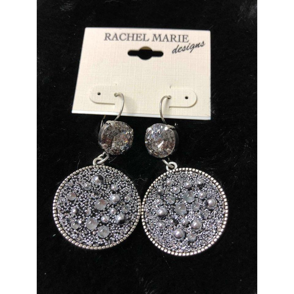 Limited Edition Earrings in Silver Patina-General-Rachel Marie Design-Lizzy's Pink Boutique