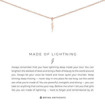 Made of Lightening-Necklace-Bryan Anthonys-Lizzy's Pink Boutique