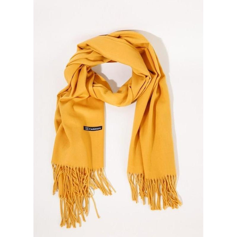 Mustard Scarf-scarf-umgee-Lizzy's Pink Boutique