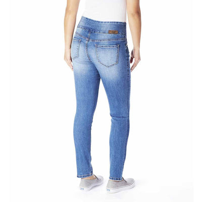 Nora Skinny - Authentic Blue-Jeans-Jag Jeans-2-Lizzy's Pink Boutique