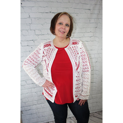 Party Favorite-Cardigans-Lizzy Pink Boutique-S-Lizzy's Pink Boutique
